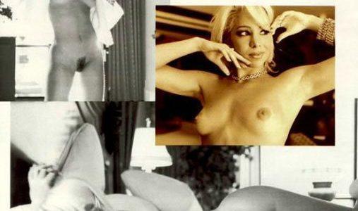 Atriz Danielle Winits nua na revista playboy de Agosto de 1998